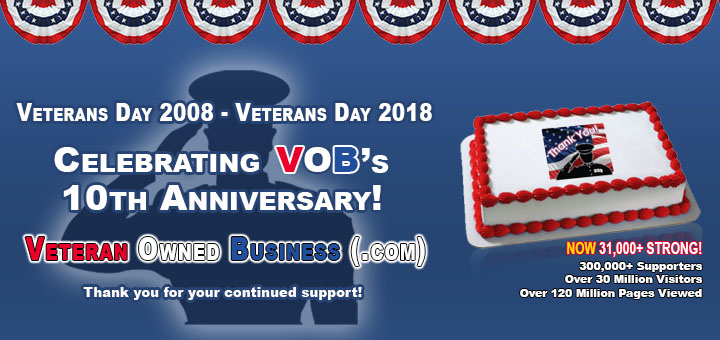 American Veteran Owned Business Association   31,000 Members
