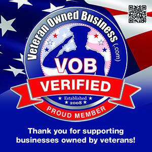 Veteran Owned Business Verified Proud Member